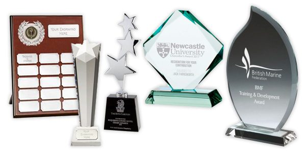 Personalised Corporate Trophies