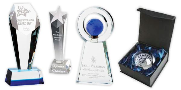 Glass & Crystal Trophies