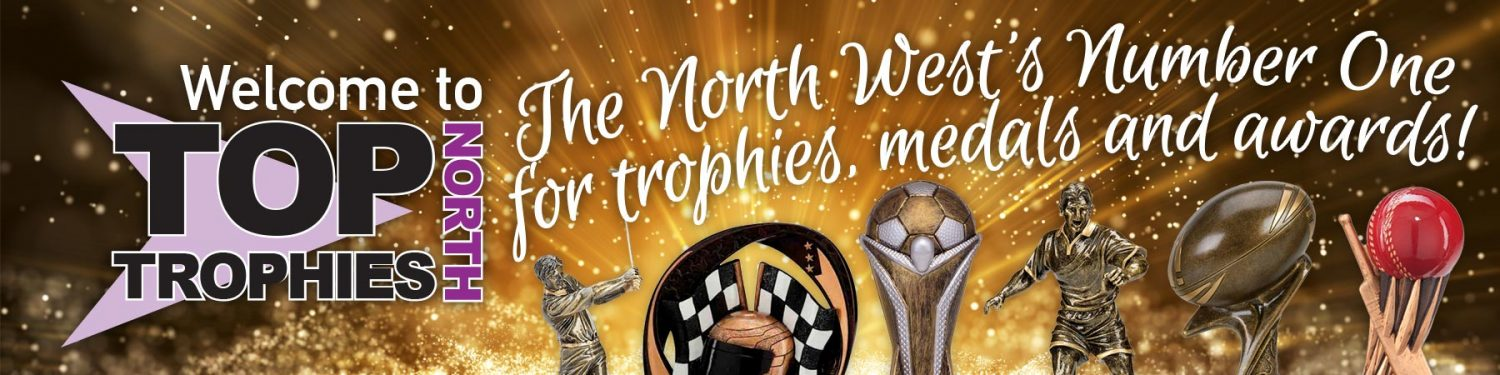 Personalised trophies & medals in Preston