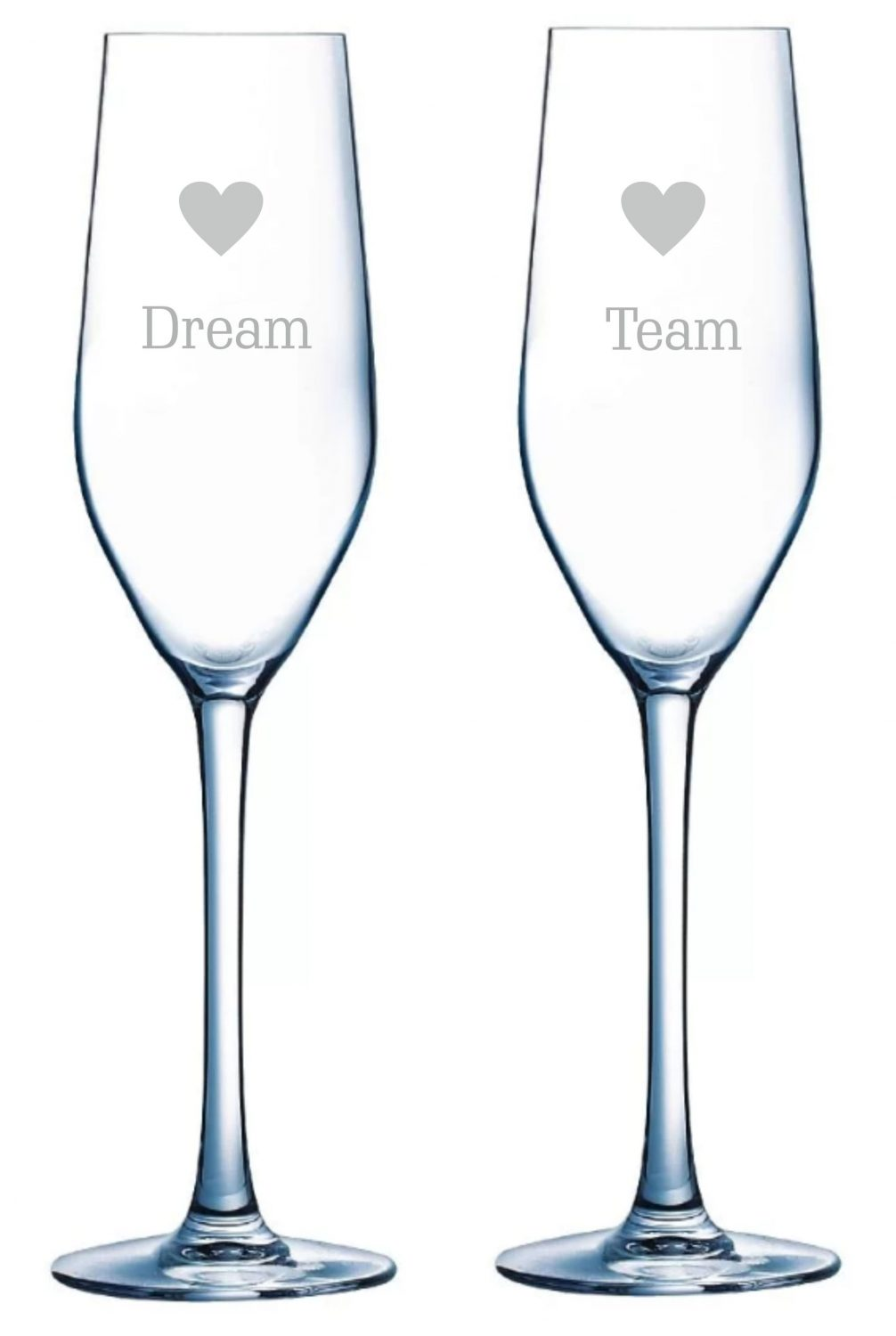 Dream Team, Slogan Champagne Flutes