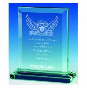 Heavy Glass Trophy