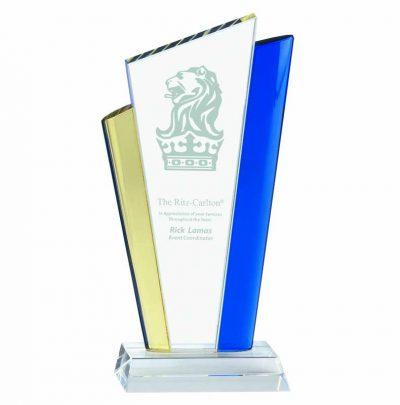 Coloured glass award