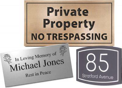 Plaques & Signage