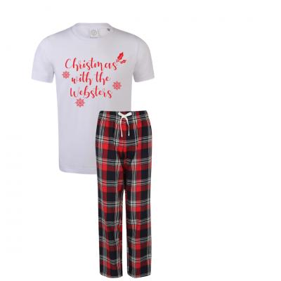 Kids Personalised Christmas Pyjamas