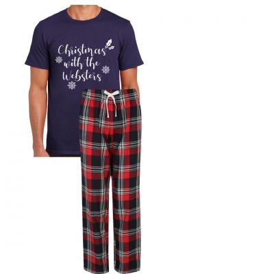 Men's Personalised Pyjamas