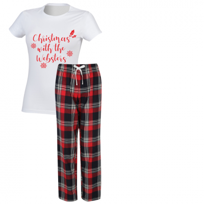 Female Personalised Pyjamas