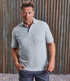 Russell Heavy Duty Piqué Polo Shirt