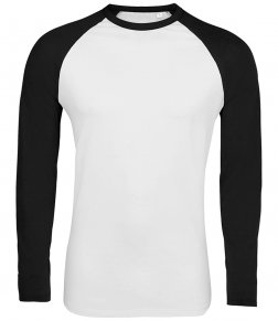 SOL'S Funky Contrast Long Sleeve T-Shirt