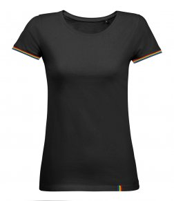SOL'S Ladies Rainbow T-Shirt