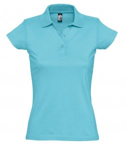 SOL'S Ladies Prescott Cotton Jersey Polo Shirt