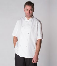 AFD Short Sleeve Coolmax® Chef's Jacket