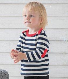 BabyBugz Baby Long Sleeve Stripy T-Shirt