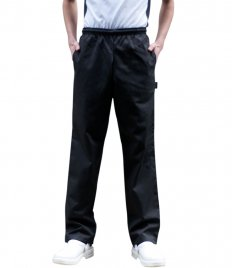Dennys Unisex Elasticated Chef's Trousers