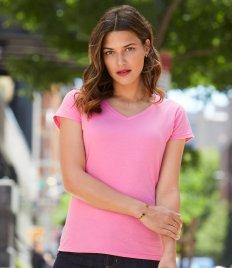 Gildan SoftStyle® Ladies V Neck T-Shirt