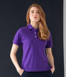 Henbury Ladies Classic Cotton Piqué Polo Shirt