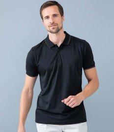 Henbury HiCool® Tipped Polo Shirt