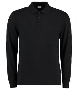 Kustom Kit Long Sleeve Poly/Cotton Piqué Polo Shirt