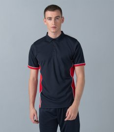 Finden and Hales Contrast Panel Polo Shirt