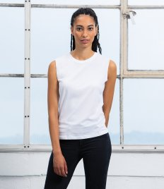 Mantis Ladies Raw Tank T-Shirt