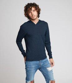 Next Level Unisex Tri-Blend Long Sleeve T-Shirt Hoodie