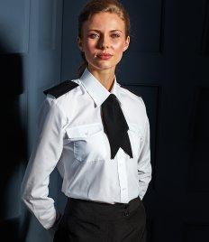 Premier Ladies Long Sleeve Pilot Shirt