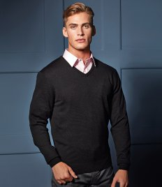 Premier Essential Acrylic V Neck Sweater