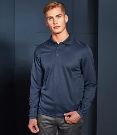 Premier Long Sleeve Coolchecker® Piqué Polo Shirt