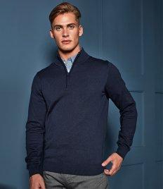Premier Zip Neck Sweater