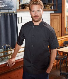 Premier Essential Short Sleeve Chef's Jacket