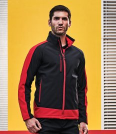 Regatta Contrast Three Layer Printable Soft Shell Jacket