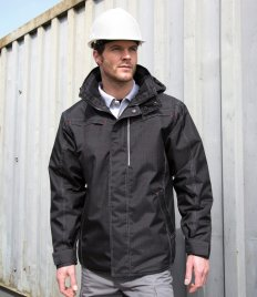 Result Work-Guard Denim Texture Rugged Jacket