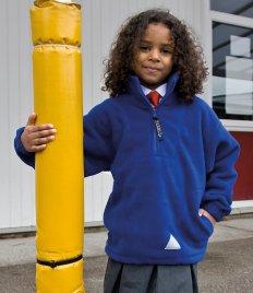 Result Kids/Youths Zip Neck Polartherm™ Fleece