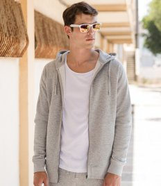 SF Unisex Slim Fit Zip Hooded Sweatshirt
