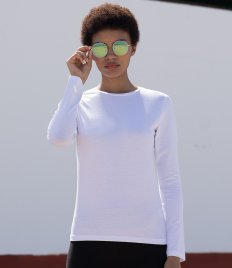 SF Ladies Feel Good Long Sleeve Stretch T-Shirt