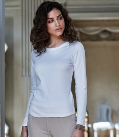 Tee Jays Ladies Long Sleeve Interlock T-Shirt