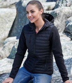 Tee Jays Ladies Crossover Hooded Jacket