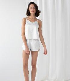Towel City Ladies Satin Cami Short PJ's