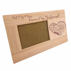 Wooden Mother's Day Photo Frame